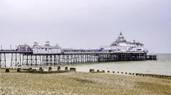 The Eastbourne pier Stock Footage