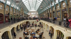 Covent Garden market Stock Footage