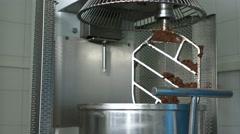 Dough machine with big tank. Stock Footage