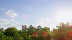 Beijing Panorama in 4k Stock Footage