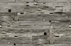 Wooden Wall Seamless Texture - stock photo