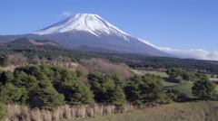 Mt Fuji, Fuji Hazone Izu National Park, Honshu, Japan - 4K  - stock footage