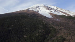 Forest and Mt Fuji, Fuji Hazone Izu National Park, Japan, 4K aerial - stock footage