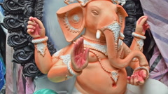 6001 Sequence 01_Lord_Ganesha_India Stock Footage