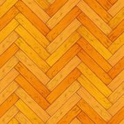 Bright wooden parquet, floor seamless pattern - stock illustration