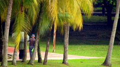 Exotic Park Stock Footage