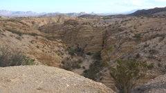 Texas Terlingua desert landscape Stock Footage