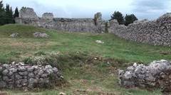 Civita ancient village of Bojano, Campobasso Stock Footage