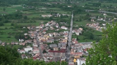 Ancient village of Bojano, Campobasso Stock Footage