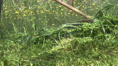 Trimmer for Grasses Stock Footage