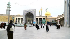 In iran antique   mosque  0001 Stock Footage