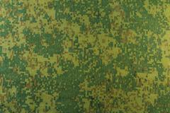 Pixel camouflage fabric Stock Photos