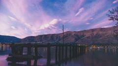 Morning at Lake Wanaka Stock Footage