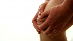 Arthritis Pain In The Knee - stock footage