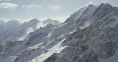 Snowcapped mountains Stock Footage