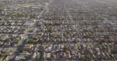 Suburban area Stock Footage
