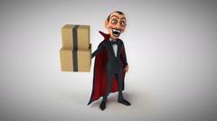 Computer animation - Vampire Stock Footage