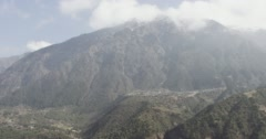 Mountain with rainforest Stock Footage