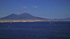 Vesuvio timelapse new Stock Footage