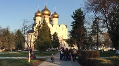 The Assumption Cathedral, Yaroslavl, Russia - stock footage