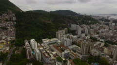 Buildings in Rio Stock Footage