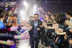 players LAN final WePlay League Season 3 Dota 29 April - 1 May Kiev Ukraine - stock photo