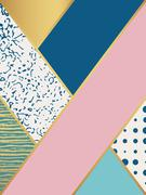 Abstract art pattern. Vector illustration for fashion design - stock illustration