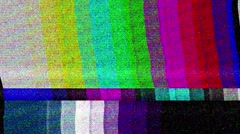 Broken Vhs Glitch Effects Stock Footage