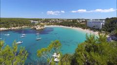 Menorca - Spain Cala Galdana Beach Stock Footage