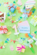 Colorful little presents Stock Photos