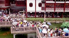Shanghai Teahouse in 4k Stock Footage