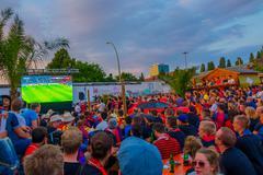 BERLIN, GERMANY - JUNE 06, 2015: Everyone be aware of final soccer champions Stock Photos