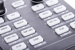Dj modern digital equipment - stock photo