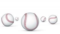 Baseball. Looping. Stock Footage