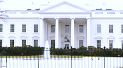 The White House MCU with GAMMA  Filter Stock Footage