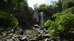 Natural waterfall beauty, Costa Rica Stock Footage