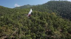 Big Buddha Statue Stock Footage
