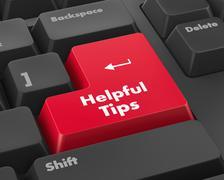 Helpful tips Stock Illustration