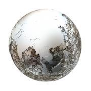 Southeast Asia on metallic Earth Stock Illustration