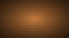 Footage motion brickwall background texture. 4K  animation Stock Footage