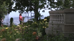 Pittock Mansion Stock Footage