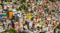 Rio's Rocinha favela Kuvituskuvat