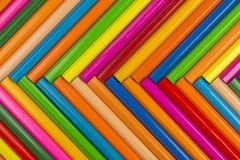Crayons as background picture. - stock photo