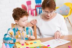 Play-centered learning Stock Photos