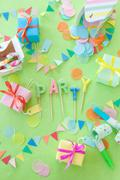 Colorful little presents - stock photo