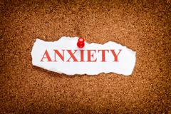 Anxiety - stock photo