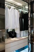 nice wardrobe - stock photo