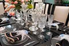 Nice tableware Stock Photos