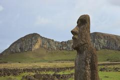 Historic Easter Island Stock Photos