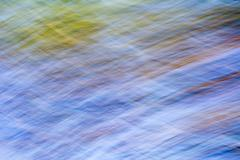 Abstract of nature. Long exposure - stock photo